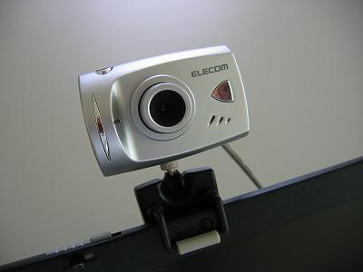 USB接続のカメラ ~ Ustream用機材
