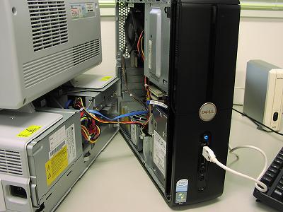 データ救出作業中@パソコン教室くりっく - OLYMPUS CAMEDIA C-2040Z
