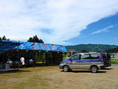 和田農場の八色産スイカ直売@新潟県南魚沼市 - Canon PowerShot A80