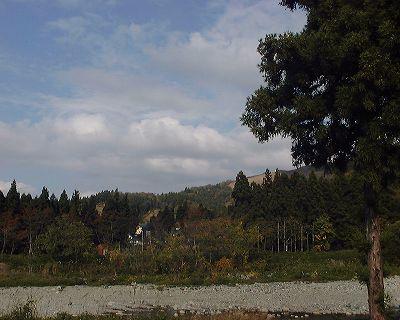 魚沼情報サービスの裏の風景 - 富士フィルム BIGJOB DS-260HD