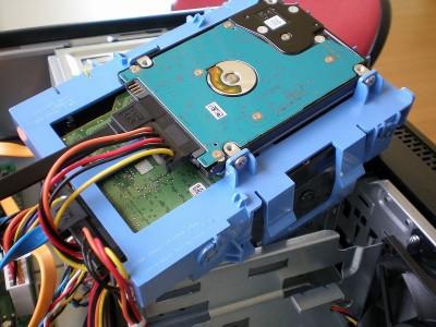 Dell Vostro 260s スリムタワーにHDDを増設 - OLYMPUS FE-180