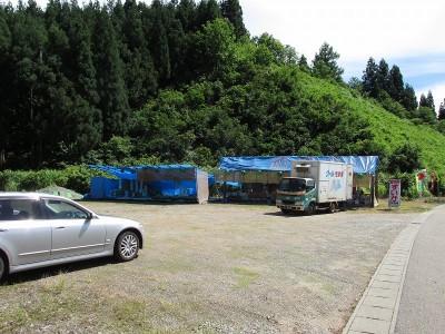 和田農場の八色産スイカ直売所がオープン - Canon PowerShot SX160 IS