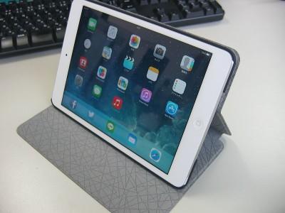iPad mini Retina ~ タブレットのケース(カバー)って、けっこういいですね - Canon PowerShot A80